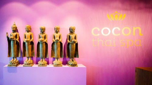 Cocon Thai Spa Empfang (c) Foto: Seerose Resort & Spa