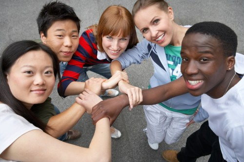 we are friends - © Foto: Franz Pfluegl / Fotolia