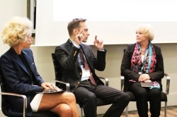 "Podiumsdiskussion zum Thema ""Luxusmarken im Naturkosmetiksegment"" © on beauty"