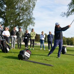SpaCamp 2019, Experience Session Schnuppergolfen. Foto: DH STUDIO Köln, Dirk Holst
